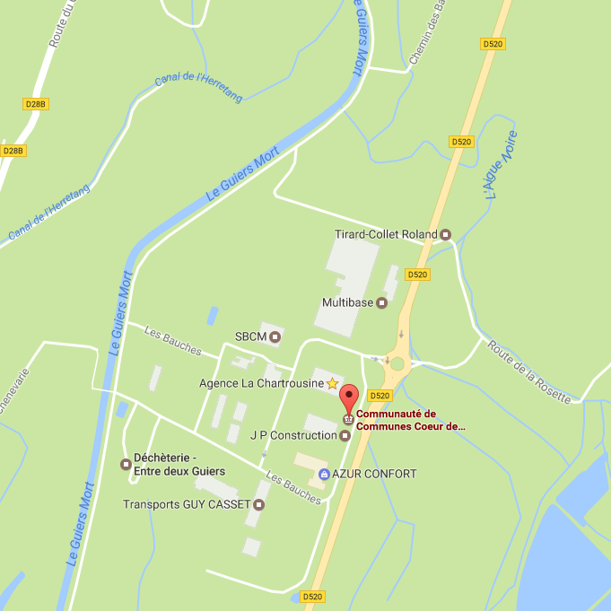 Cliquez sur la carte pour calculer votre itinéraire pour venir nous voir !